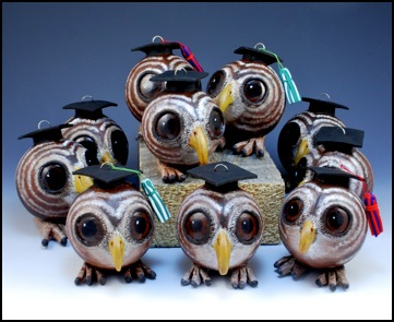 Graduate Owl Ornaments